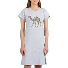Cute Abstract Women's Nightshirt