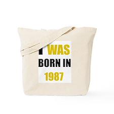 Cute 1987 Tote Bag