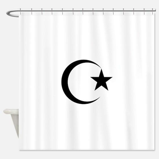 Cute Islamic Shower Curtain