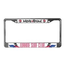 Wahine Surf Club License Plate Frame