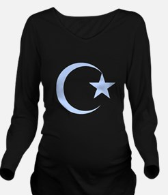 Islamic Long Sleeve Maternity T-Shirt