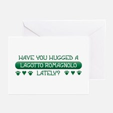Hugged Lagotto Greeting Cards (Pk of 10)
