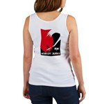 Nobody Surfs Like a Wahine Women's Tank Top