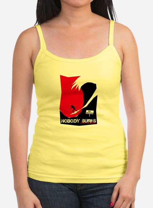 Nobody Surfs Like a Wahine Tank Top