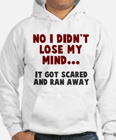 No I didn't lose my mind Hoodie