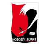 Nobody Surfs Like a Wahine Postcards (Package of 8