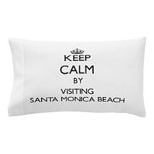 Cute Santa monica Pillow Case