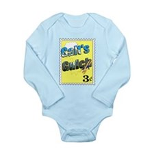 Stamp Long Sleeve Infant Body Suit