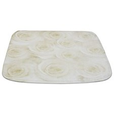 White Rose Bathmat