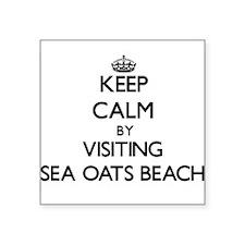 Keep calm by visiting Sea Oats Beach Florida Stick