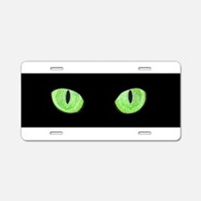 Cute Feline Aluminum License Plate
