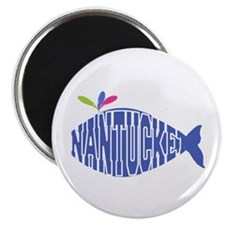 Cute Nantucket Whale Magnets