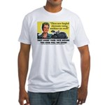 Newfangled Voting Machines Fitted T-Shirt