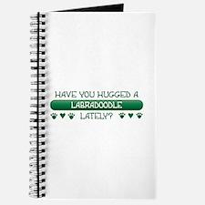 Hugged Labradoodle Journal