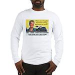 Newfangled Voting Machines Long Sleeve T-Shirt