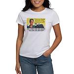 Newfangled Voting Machines Women's T-Shirt