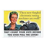 Newfangled Voting Machines Postcards (8)