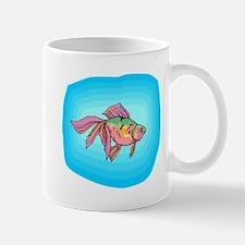 Rainbow Betta Fish Mugs