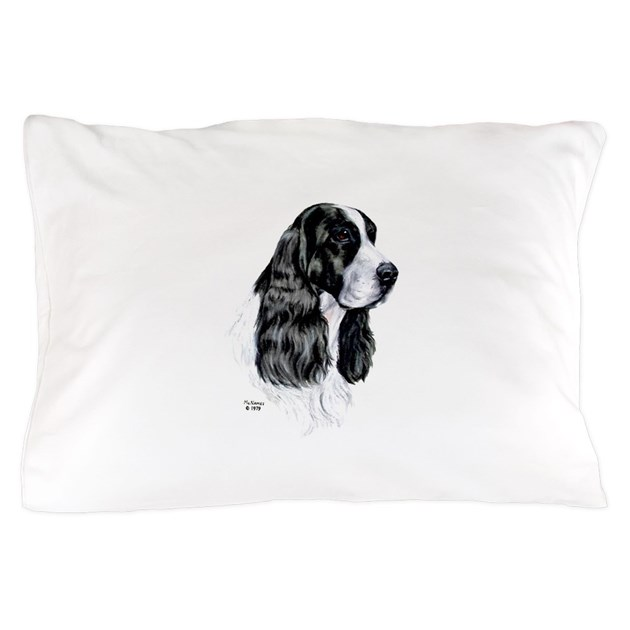 English springer spaniel pillow case by rosewoodstudio for English springer spaniel coloring pages