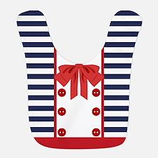 Sailor Stripes Bib