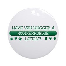 Hugged Kookier Ornament (Round)