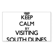 Keep calm by visiting South Dunes Georgia Decal