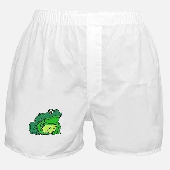 Fat Green Frog Boxer Shorts