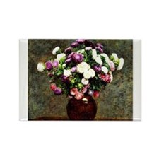 Asters in a Vase, painting by Henri Fantin-Latour