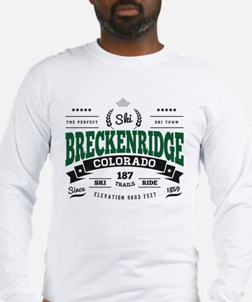 Breckenridge Vintage Long Sleeve T-Shirt