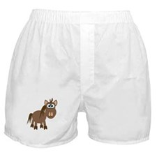 Gookfins Silly Little Horse/Pony Boxer Shorts