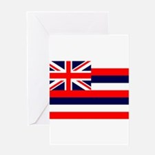 Hawaii State Flag Greeting Cards