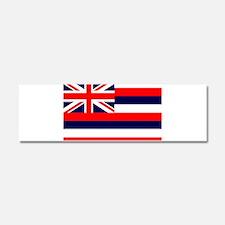 Hawaii State Flag Car Magnet 10 x 3