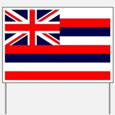 Hawaii State Flag Yard Sign