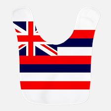 Hawaii State Flag Bib
