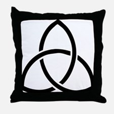 Cute Holy trinity Throw Pillow