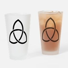 Cute Trinity Drinking Glass