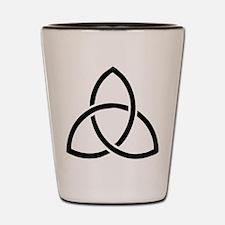 Unique Trinity Shot Glass