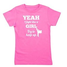 Fight Like a Girl - W Girl's Tee