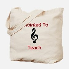 Anointed Music Teacher Tote Bag