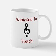 Anointed Music Teacher Mugs