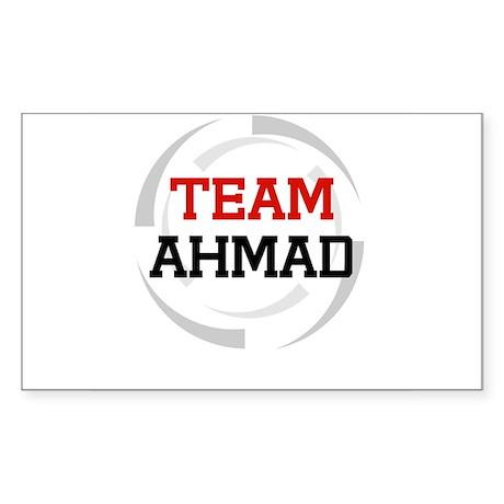 Ahmad Rectangle Sticker