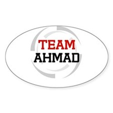 Ahmad Oval Decal
