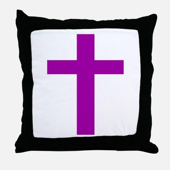 Funny Catholicism Throw Pillow