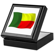 Benin Flag Keepsake Box