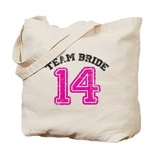 Team Bride 2014 Tote Bag