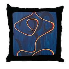 Unique Yoga Throw Pillow