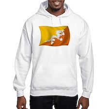 Bhutan Flag Hoodie