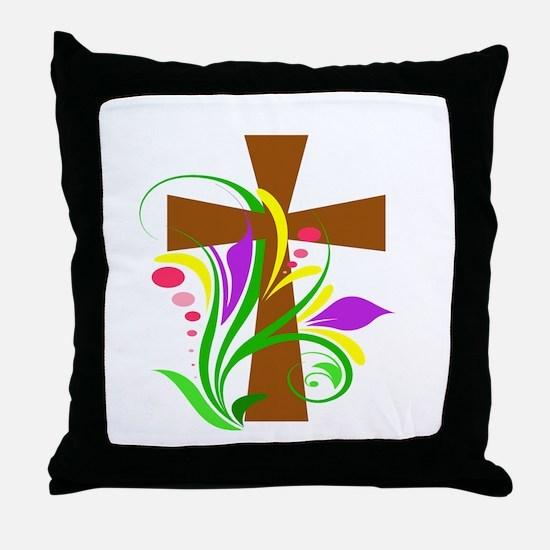 Cool Catholicism Throw Pillow