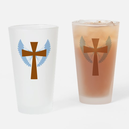 Funny Catholicism Drinking Glass