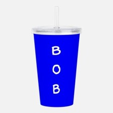 Bob Blue BFF 23 Acrylic Double-wall Tumbler